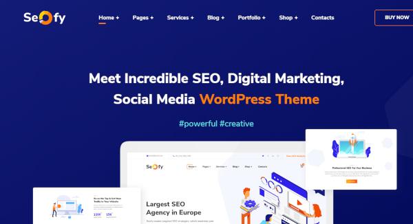 seofy best seo wordpress theme for business