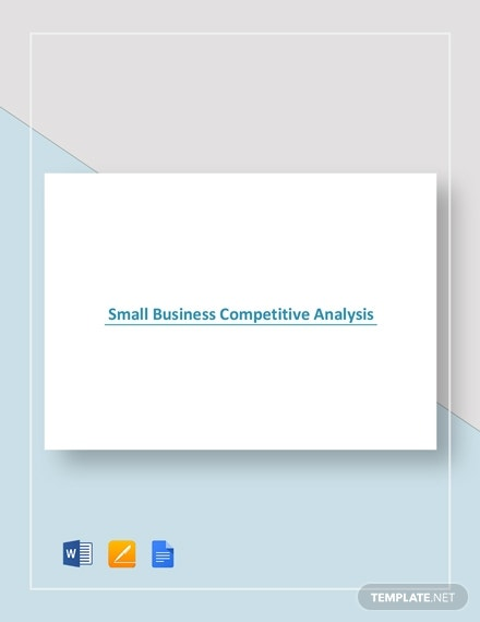small business competitive analysis