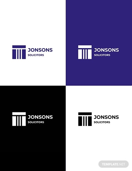 solicitors logo template