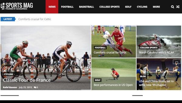 sportsmagtheme