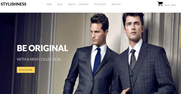 stylishness responsive wordpress theme