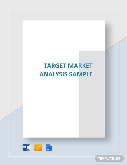 target market analysis example1