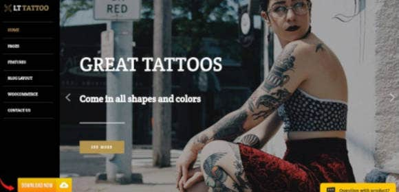 21+ Best Tattoo WordPress Themes & Template 2019 [ Download Now ...