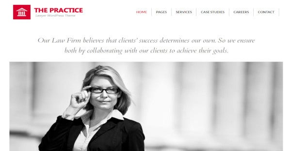 The Practice – The Law Person Website Theme