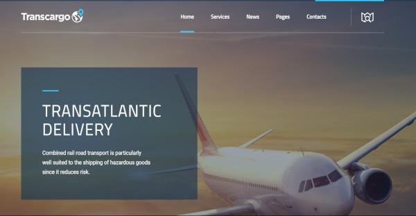 Transcargo - WordPress Theme for Shipping Companies