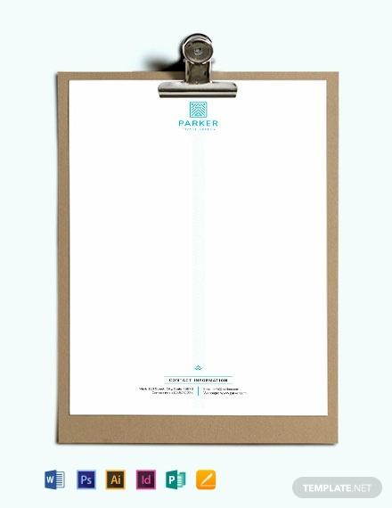 travel agency letterhead template1