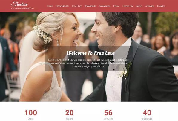 truelove – plugin compatible wordpress theme