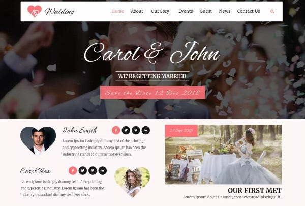 vw wedding wpml compatible wordpress theme