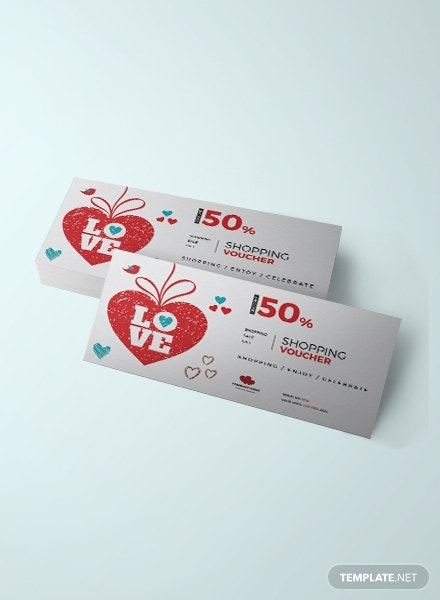 valentines day shopping coupon
