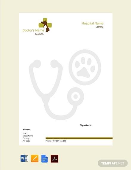veterinary-doctors-prescription-template
