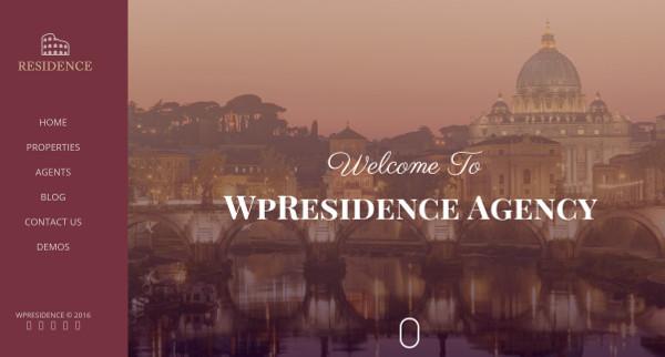wp residence mobile friendly wordpress theme
