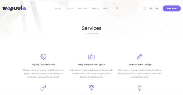 wapuula – multipurpose wordpress theme