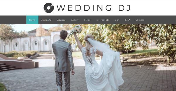 wedding dj bootstrap 3