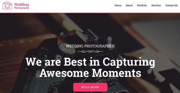 wedding photography – seo ready wordpress theme
