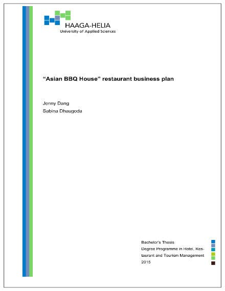 asian bbq house restaurant business plan 01
