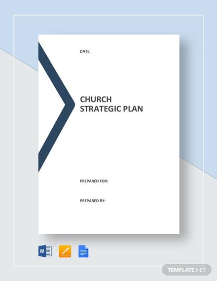 church strategic plan