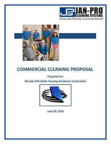 commercial cleaning proposal 01