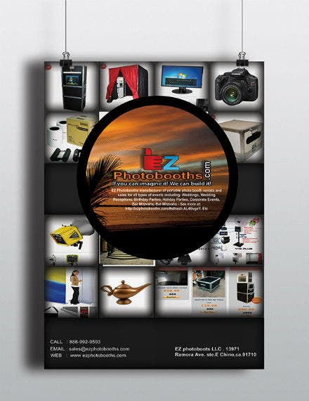 photography flyer sample