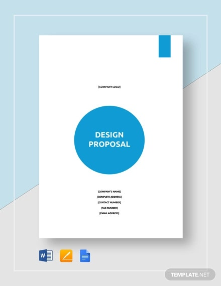 sample design proposal