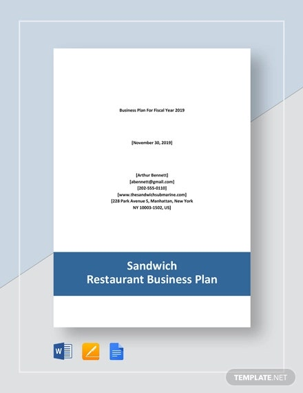 sandwich restaurant business