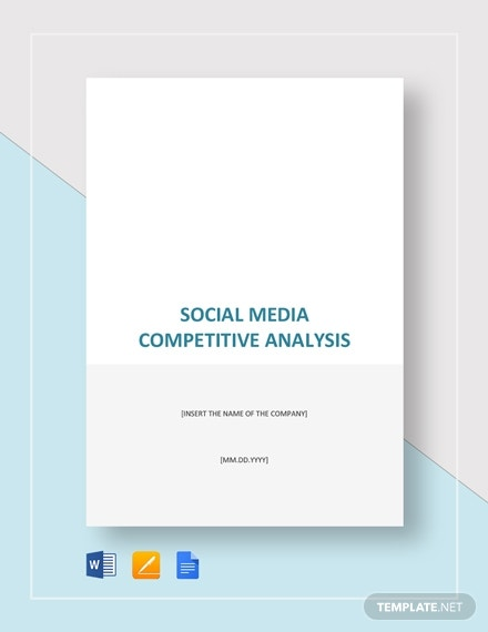 social media competitive analysis 2