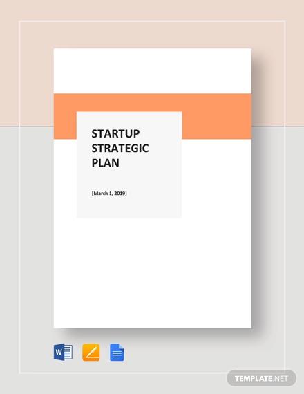 startup strategic
