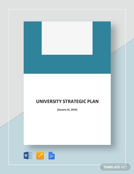 university strategic