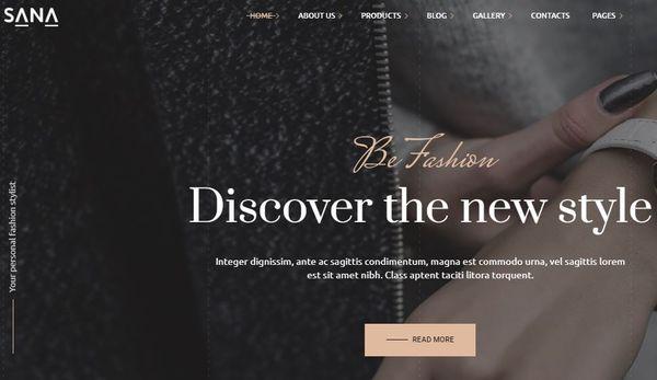 Sana - WP Bakery Page Builder Powered WordPress Theme