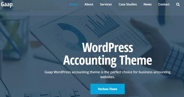 Gaap - Font Awesome WordPress Theme