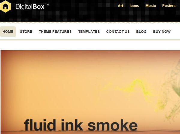 DigitalBox- Widgetized WordPress Theme