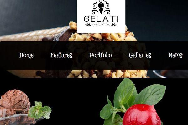 Gelati – Self-hosted WordPress Theme