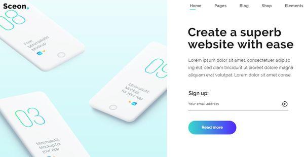 Sceon – WooCommerce Integrated WordPress Theme