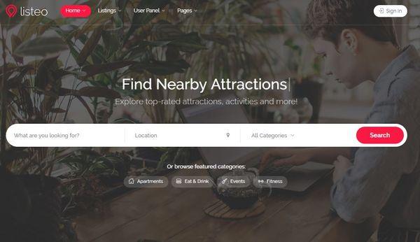 Listeo – Messaging Integrated WordPress Theme