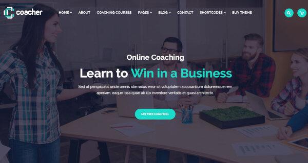 Coacher - CSS Animation WordPress Theme