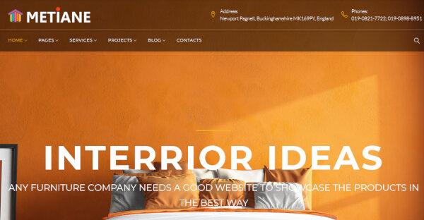 Metiane- CSS3 coded WordPress Theme