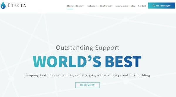 Etrota- Widget-Ready WordPress Theme