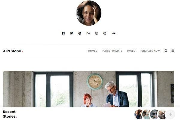 Alia – Advanced Typography WordPress Theme