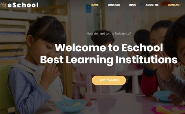 Eschool – LearnPress-Supported WordPress Theme