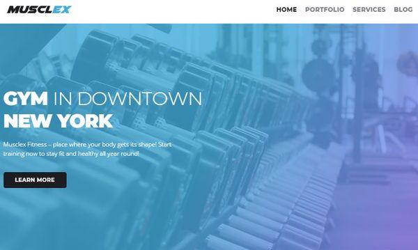 Musclex – Elementor Page Builder Powered WordPress Theme