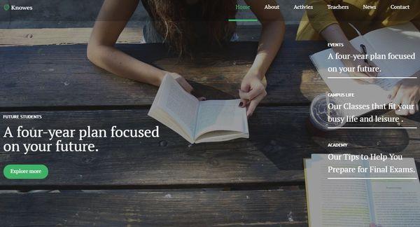 Knowes - Multipurpose Modern WordPress Theme