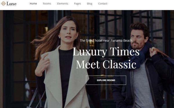 Hotel Luxe- Feature Rich WP theme