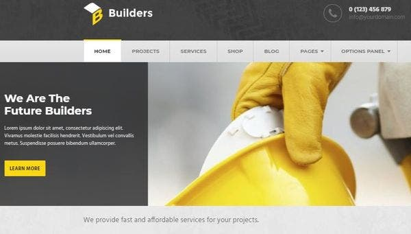 Builders - Speed Optimized WordPress theme