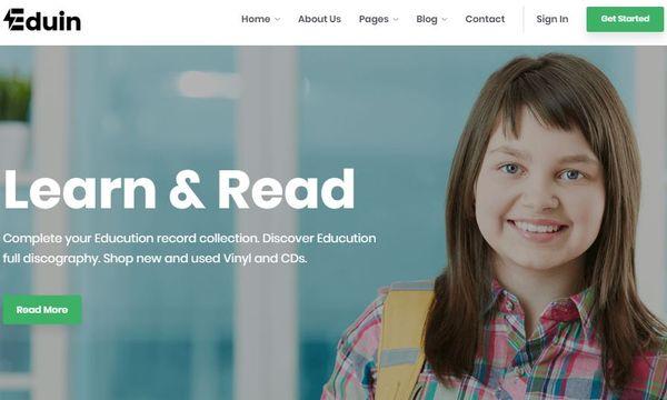 Eduin – High-Quality WordPress Theme