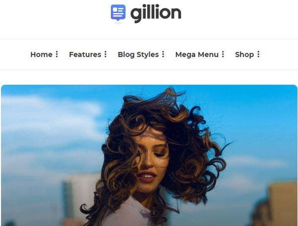 Gillion – Gutenberg Optimized WordPress Theme
