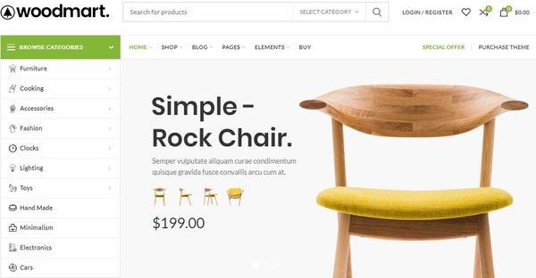 Woodmart- Responsive WordPress Theme