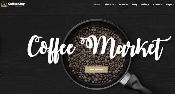 Coffee King – One-click Demo WordPress Theme