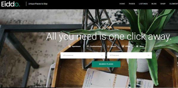 Eiddo - WPBakery Page Builder WordPress Theme
