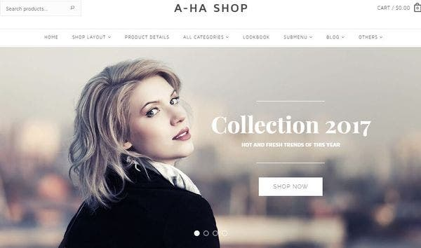 Aha – Speed Optimized WordPress Theme