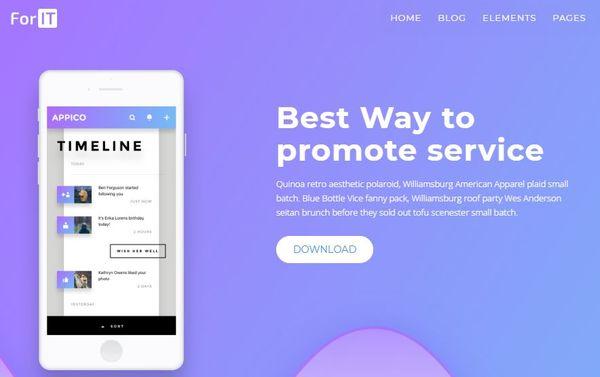 ForIT – One-click Demo Import WordPress Theme
