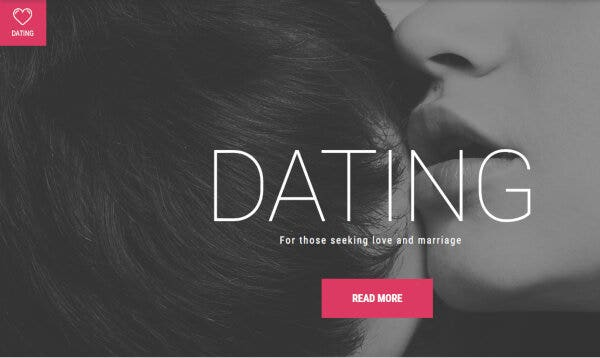 Dating Agency – Responsive WordPress Them